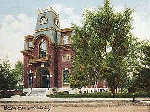 St. Johnsbury Athenaeum - The Athenaeum in 1906