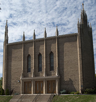 Barry Byrne - St. Patrick's Roman Catholic Church, Racine, Wisconsin (1924)