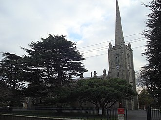 St. Philip and St. James Church, Booterstown - Image: St. Philip and St. James Church, Booterstown, Cross Ave
