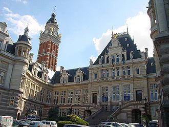 Saint-Gilles, Belgium - Saint-Gilles town hall