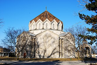 Southfield, Michigan - St. John Armenian Church in Southfield, founded by Alex Manoogian