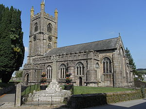 Callington, Cornwall - St.Mary's Church, viewed from SE