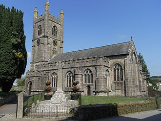 Callington - St Mary's Church, viewed from the southeast