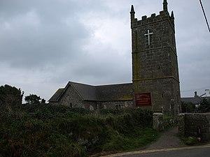 St Sennen's Church, Sennen - St. Sennen's Church, Sennen