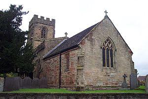 Shilton, Warwickshire - Image: St Andrew's Church, Shilton