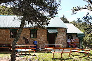 Guybon Atherstone - The Anglican church on the Highlands road between Grahamstown and Alicedale
