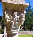 St Michel de Cuxa cloître vue intérieure 09.jpg