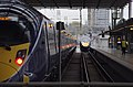 St Pancras railway station MMB E8 395009 395005 395025.jpg