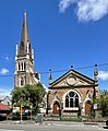 St Paul's Presbyterian Church and Hall, Spring Hill, Queensland, 2020.jpg