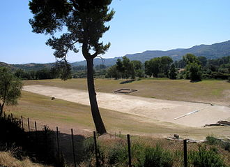 Sport in ancient Greek art - Birth of the Olympic Games in the Stadium at Olympia