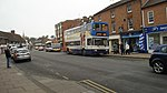 Stagecoach Bus in Wood St, Stratford upon Avon,