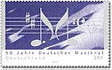 Stamp Germany 2003 MiNr2346 Deutscher Musikrat.jpg