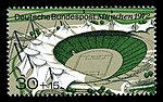 Stamps of Germany (BRD), Olympiade 1972, Ausgabe 1972, Block 1, 30 Pf.jpg