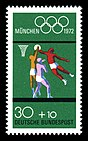 Stamps of Germany (BRD), Olympiade 1972, Ausgabe 1972, Block 2, 30 Pf.jpg