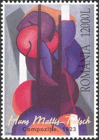 János Mattis-Teutsch - Composition, 1923