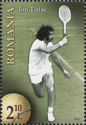Ion Țiriac - Image: Stamps of Romania, 2015 085