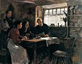 Stanhope Forbes Reading the News of the Queen's Death in a Cornish Cottage.jpg