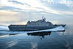 Starboard side view of USS Wichita (LCS-13) during acceptance trials US Navy 180711-N-N0101-374.jpg