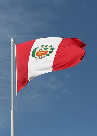 State flag - The state flag of Peru