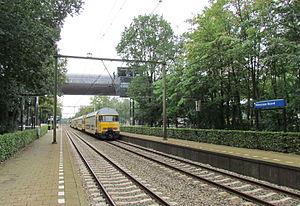 Hilversum Media Park railway station - Image: Station Hilversum Noord, september 2011 (2)