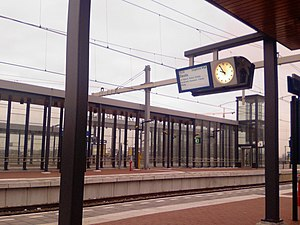 Amersfoort Vathorst railway station - Platform 3 of the station