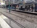 Station du tramway T1 d'Île de France, Basilique de St-Denis.jpg