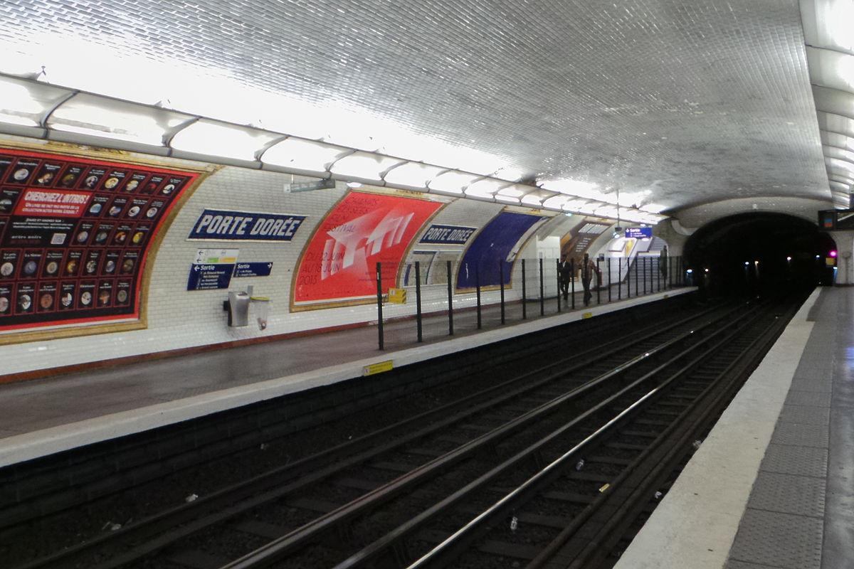 Porte dor e paris m tro wikipedia - Porte de charenton metro ...
