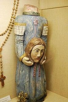 Sainte Solange (Musée du Berry, Bourges), sainte patronne du Berry