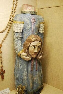 Statue de Saint Solange.JPG