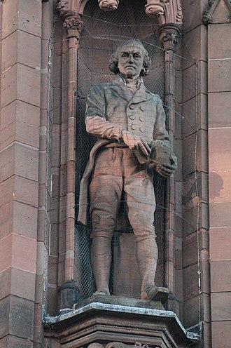 John Hunter (surgeon) - Statue of Dr John Hunter, Scottish National Portrait Gallery