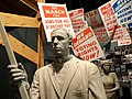 Statues of Protesters with Signage - National Civil Rights Museum - Downtown Memphis - Tennessee - USA.jpg