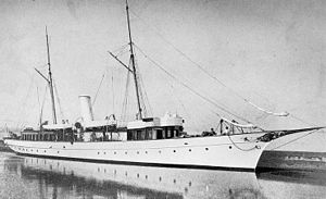 USS Wadena (SP-158) - Wadena is seen as she appeared shortly before her U.S. Navy service in World War I.