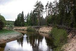 Узола — Википедия Река Волга Зимой