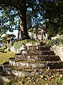 Steps near Kenn church - geograph.org.uk - 581504.jpg