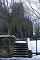 Steps on public footpath beside Halifax Parish Church - geograph.org.uk - 1370508.jpg