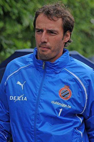 Stijn Stijnen - Stijnen training with Brugge in 2011