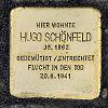 Stolperst alt fechenheim 129 schoenfeld hugo