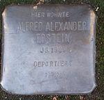 Stolperstein Alfred Alexander Ebstein Offenburg.jpg