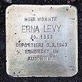 Stolperstein Auf dem Grat 43 (Dahle) Erna Levy.jpg