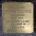 Stolperstein Danziger Str 92 (Prenz) Hertha Jalowitz.jpg