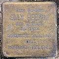 Stolperstein Duisburger Str 1 (Wilmd) Elly Herzog.jpg