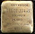 Stolperstein Friesenstr 82 Grete Jonas.jpg