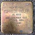 Stolperstein Kleve Bahnhofstraße 21 Elfriede Wolff.jpg