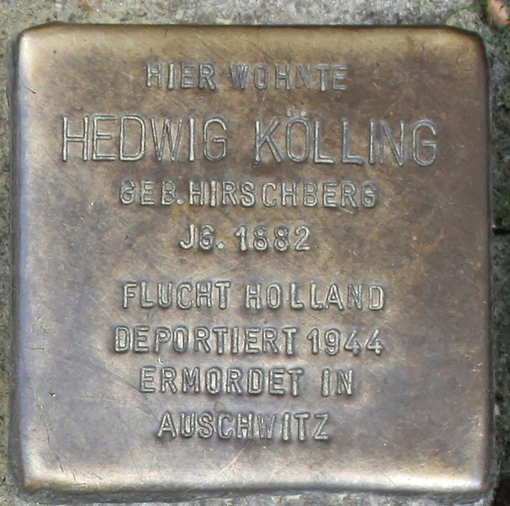 Stolperstein Schwerte Cava-dei-Tirreni-Platz 03 Hedwig Kölling.jpg