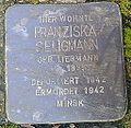 Stolperstein Windeck Rosbach Kirchplatz Franziska Seligmann.jpg