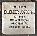 Stolperstein für Jozsefne Hollender (Szeged).jpg