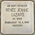 Stolperstein für Renee Jeanne Lazard (Differdingen).jpg