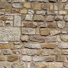 جدار من الحجارة