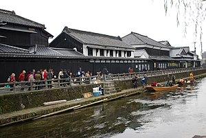 Tochigi, Tochigi - traditional Kura storehouses in Tochigi