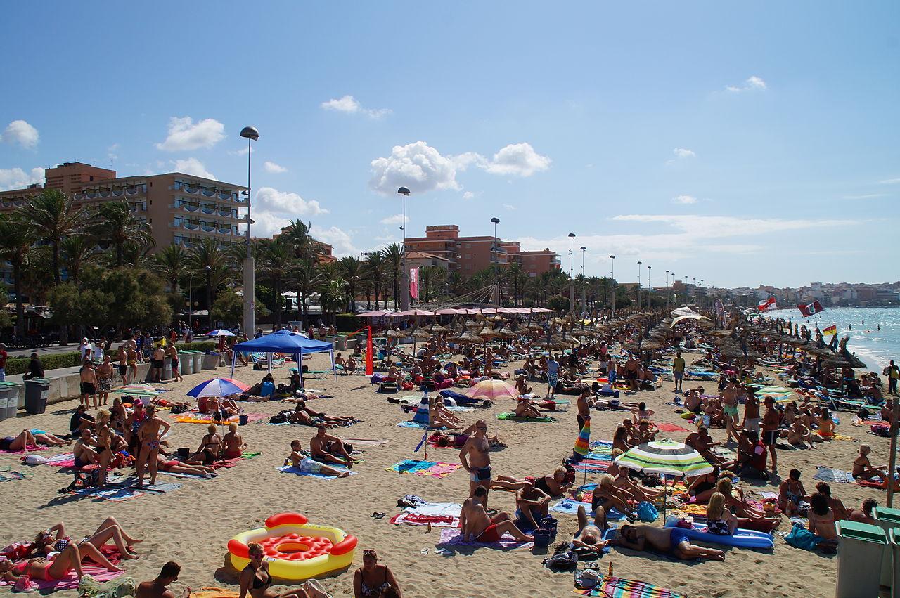 Strand am Ballermann 6.JPG